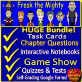 Freak the Mighty NOVEL STUDY Unit Bundle - Printable AND D