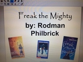 Freak the Mighty Novel Activities and Review Questions