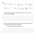 Freak the Mighty Novel Comprehension Questions