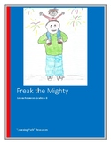 Freak the Mighty Novel Resources