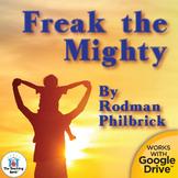 Freak the Mighty Novel Study Book Unit