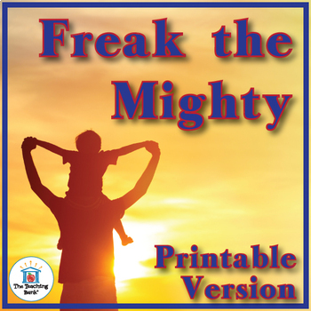 Freak the Mighty Novel Study Book Unit Printable Version