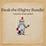 Freak the Mighty Novel Study Guide Bundle- comprehension, vocabulary, & more!