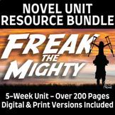 Freak the Mighty Novel Study Teaching Resource BUNDLE