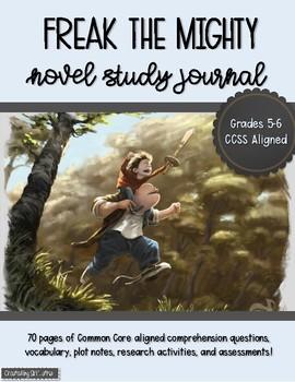 Freak the Mighty Novel Study Unit