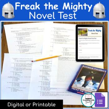 Freak the Mighty Novel Test & Answer Key