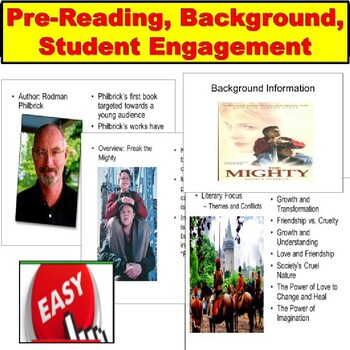 Freak the Mighty PPT Lesson Plans