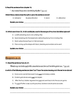 Freak the Mighty Question & Activity Packet