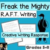 Freak the Mighty: Creative Writing