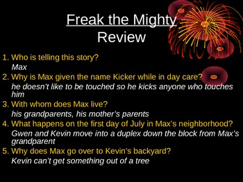 Freak the Mighty Review