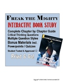 Freak the Mighty (Rodman Philbrick) Novel Study with Powerpoints
