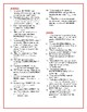 Freak the Mighty Synonym/Antonym Crossword--Use with Bookmarks Plus!