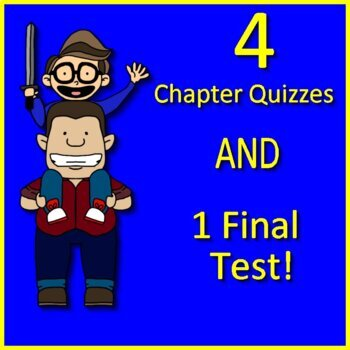 Freak the Mighty Quiz and Test Bundle Common Core Aligned