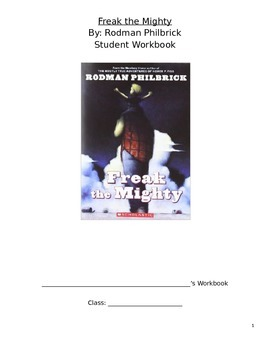 Freak the Mighty Unit Student Packet