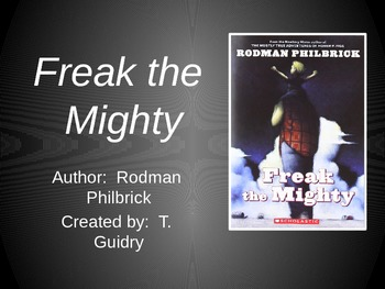 Freak the Mighty by Philbrick (Guided Reading Quizzes)