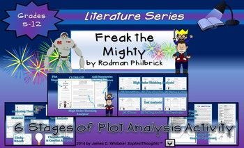 Freak the Mighty by Rodman Philbrick 6 Stages of Plot Anal