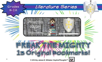 Freak the Mighty by Rodman Philbrick Bookmarks