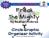 Freak the Mighty by Rodman Philbrick Circle Graphic Organizer Activity