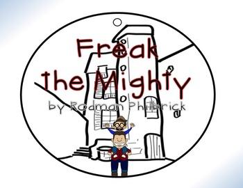 Freak the Mighty by Rodman Philbrick Circle Graphic Organizer Activity