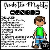 Freak the Mighty by Rodman Philbrick UNIT PLAN Bundle; Reading Comprehension