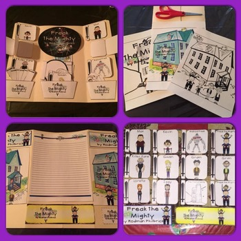 Freak the Mighty by Rodman Philbrick Ultimate Interactive Lap Book