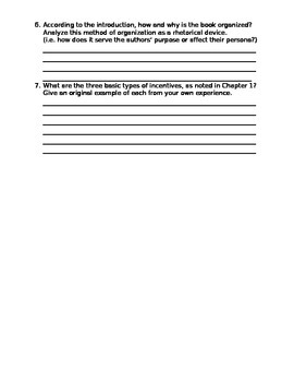Freakonomics Introduction Analysis for AP English Language