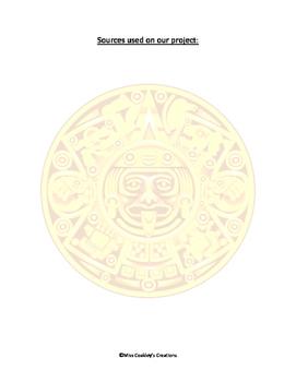 Freaky Facts Poster- Incas Mayas Aztecs