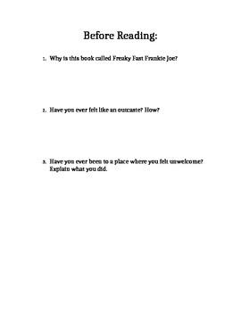 Freaky Fast Frankie Joe Chapter Guide