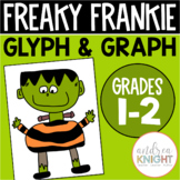Halloween Math Activity with Glyphs and Graphs (Freaky Frankie)
