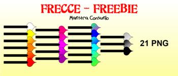Frecce Arrows Freebie