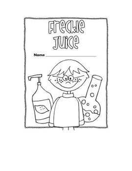 Freckle Juice Activity
