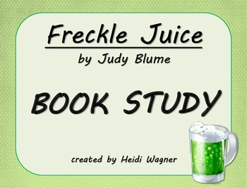 Freckle Juice Book Study