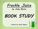 Freckle Juice Book Study