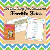 Freckle Juice Bundle- Digital Chapter Assessment