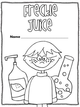 Freckle Juice {Chapter by Chapter Reading Activities}