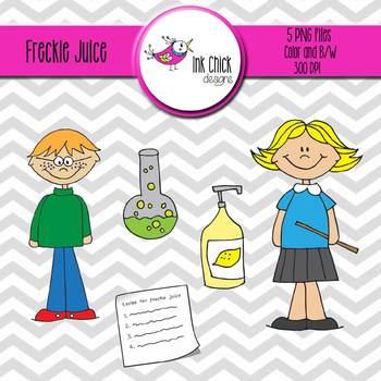 Freckle Juice Clip art