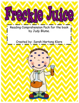 Freckle Juice! {Comprehension Pack}