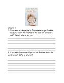 Freckle Juice- Comprehension Packet
