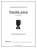 Freckle Juice - Reading Companion