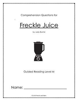 Freckle Juice - Reading Companion