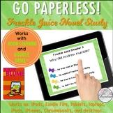 Freckle Juice Novel Study Google Drive and Boom Novel Study