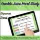 Google Classroom™ Freckle Juice Novel Study