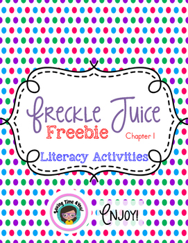 Freckle Juice FREEBIE