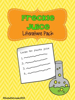 Freckle Juice Literature Pack