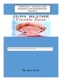 Freckle Juice Literature Unit