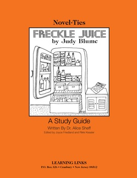 Freckle Juice - Novel-Ties Study Guide