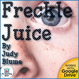 Freckle Juice Novel Study Book Unit