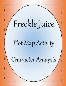 Freckle Juice Plot Map and Character Analysis