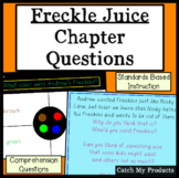 Freckle Juice Chapter Questions Powerpoint