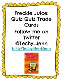 Freckle Juice Quiz-Quiz-Trade Cards